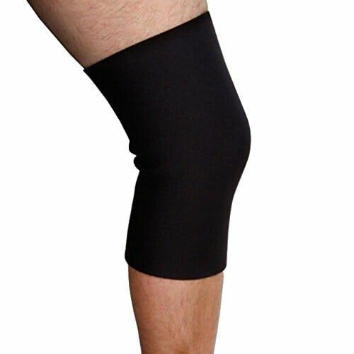 BraceAbility Plus Size Knee Sleeve