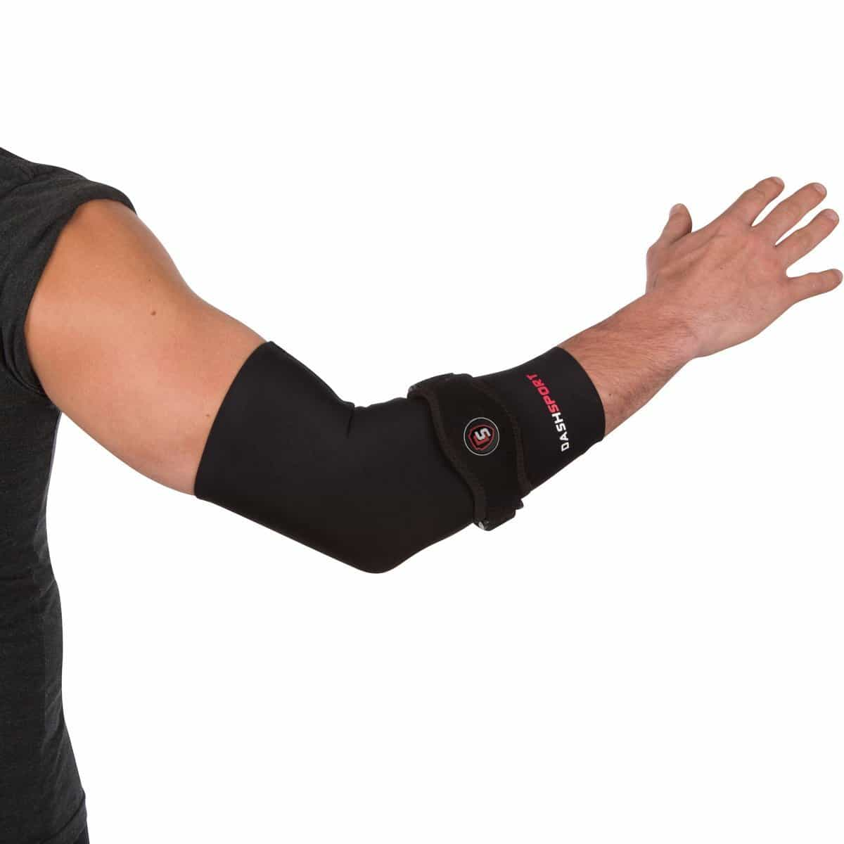 how to put on strong elbow sleeves