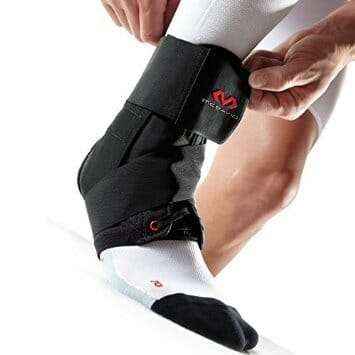 McDavid Level 3 Lace-up Ankle Brace with Straps