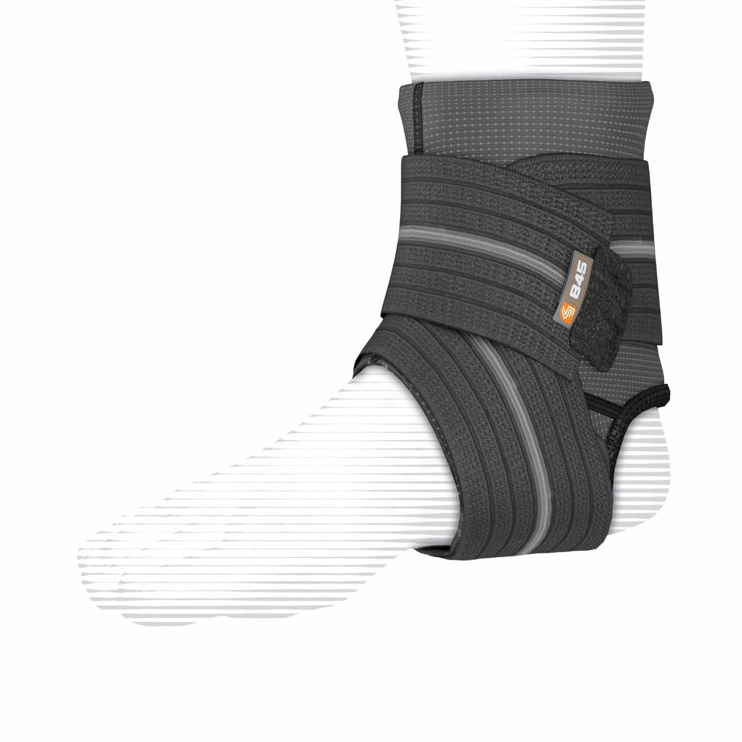 Ankle Sleeve with Compression Strap